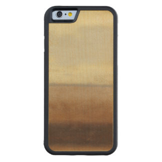 Solitary Desert Landscape by Norman Wyatt Carved Maple iPhone 6 Bumper Case