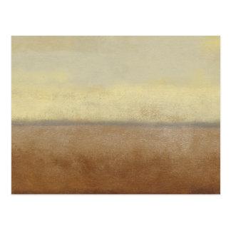 Solitary Desert Landscape by Norman Wyatt Postcard