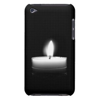 Solitary Lit Candle iPhone Touch Case-Mate Case