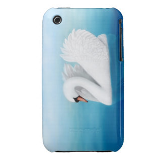 Solitary Mute Swan iPhone 3 Case