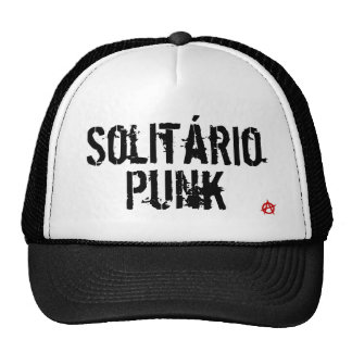solitary punk trucker hat