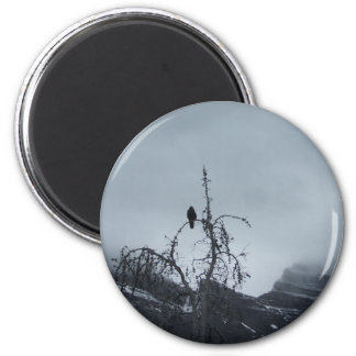 Solitary Raven Series Magnet