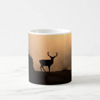 Solitary Red Stag Mug