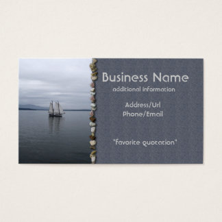 Solitary Sail Business Card