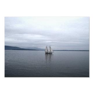 Solitary Sail Card