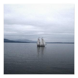 Solitary Sail Personalized Invite