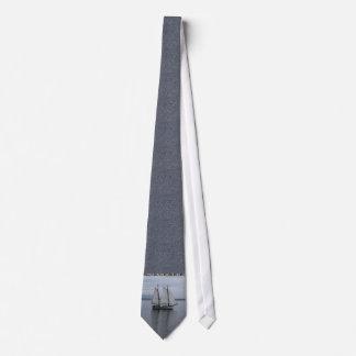 Solitary Sail Neck Tie