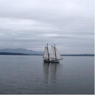 Solitary Sail Statuette