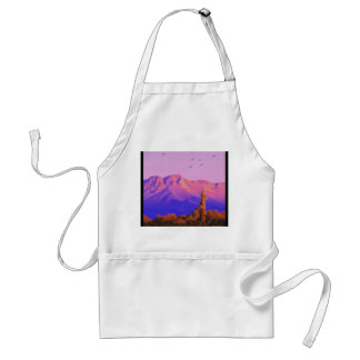 Solitary Silent Sentinel Adult Apron