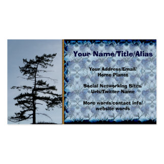 Solitary Survivor Tree Double-Sided Standard Business Cards (Pack Of 100)