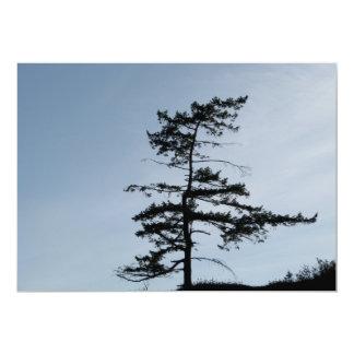 Solitary Survivor Tree Card