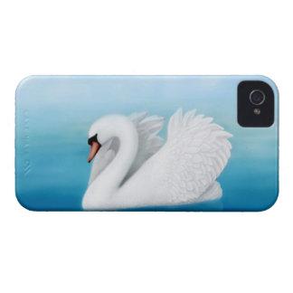 Solitary Swan Blackberry Bold Case