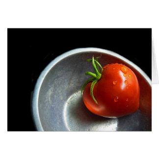 solitary tomato card
