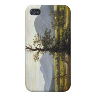 Solitary Tree - Caspar David Friedrich iPhone 4/4S Case