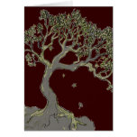 Solitary Tree, greeting card