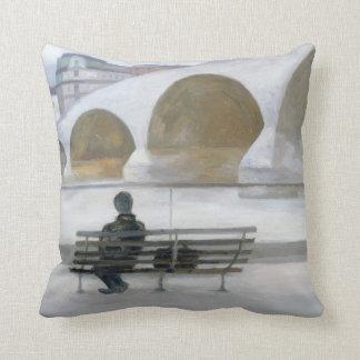 Solitude 2006 throw pillow