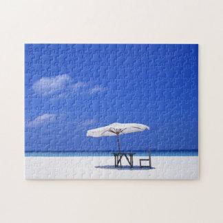 Solitude Beach Scene Jigsaw Puzzle