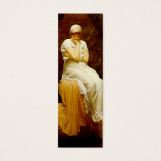 Solitude Bookmark by Frederick Lord Leighton Mini Business Card