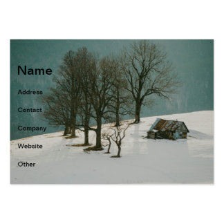Solitude Large Business Cards (Pack Of 100)