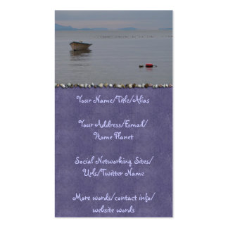 Solitude Double-Sided Standard Business Cards (Pack Of 100)