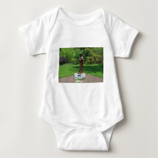 Solitude by Tuck Langland Baby Bodysuit