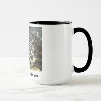 Solitude Can Often Be Nice - Black Ringer Mug