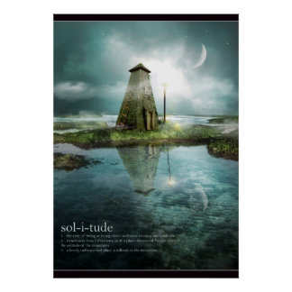 Solitude Extra Large Poster