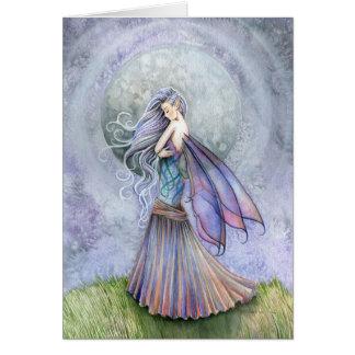 Solitude Fairy Greeting Card ~ Blank