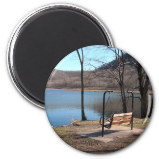 Solitude in Minnesota 2 Inch Round Magnet