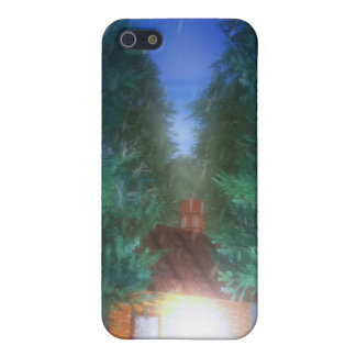 Solitude iPhone skin Cover For iPhone 5
