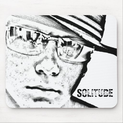 SOLITUDE - Mouse Pad