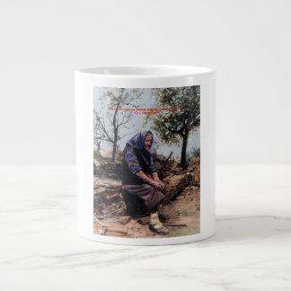 Solitude (Note) /Solitude (Sketch) Giant Coffee Mug