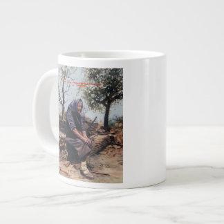 Solitude (Note) /Solitude (Sketch) Large Coffee Mug