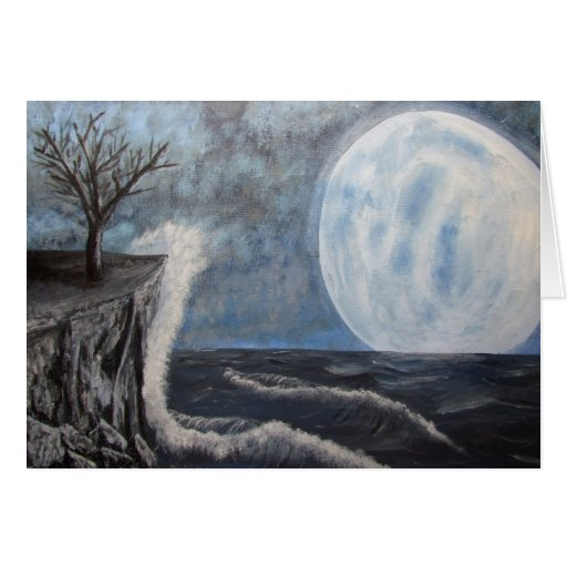 Solitude Painting Greeting Cards