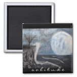Solitude Painting Magnet