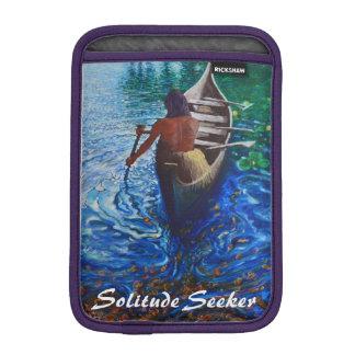 Solitude Seeker - Indian Ipad mini sleeve