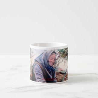 Solitude/Soidade/Loneliness Espresso Cup