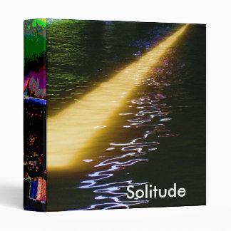 SOLITUDE Sparkle 3 Ring Binder