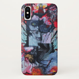 Solitude Stands Love Relationship Goth Collage Art iPhone X Case