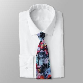 Solitude Stands Mix Media Original Art Necktie