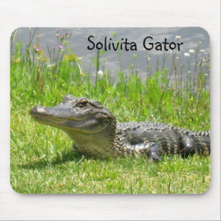 Solivita - Gater in the Grass Mouse Pad