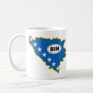 Solja konture BiH Coffee Mug