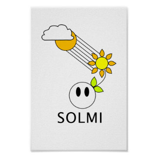 SOLMI's Flower Guy Poster