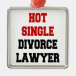 Solo abogado de divorcio caliente adorno