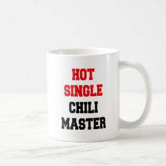 Solo amo caliente del chile taza clásica