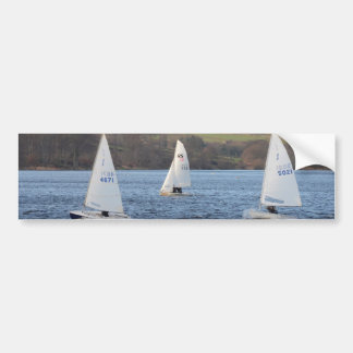 Solo And RS200 Dinghies Car Bumper Sticker