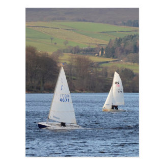 Solo And RS200 Dinghies Postcard