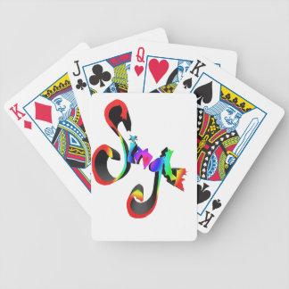 solo arco iris baraja cartas de poker