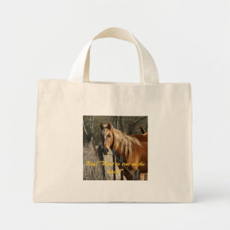 solo bolso del caballo bolsa de mano