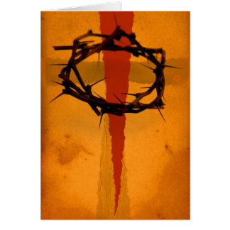 """Solo Christo """"The Salvation Series"""" Card"""